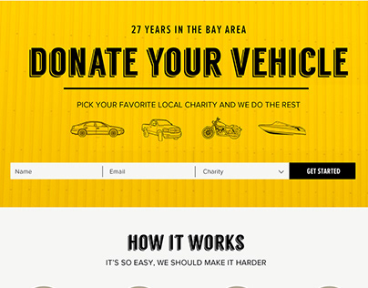 Vehicles for Charity