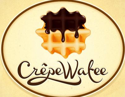 """Branding Food Cart """" Crepe Wafee"""""""