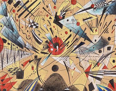 Kandinsky in a Room