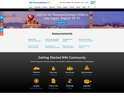 SAP SuccessFactors Redesign