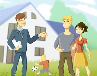 Prefab House Animation