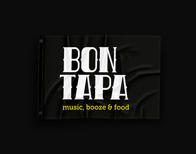 Branding Bon Tapa, music, booze & food