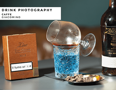 Drink Photography for Caffe Giacomino