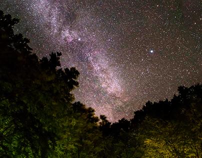 The Milky Way Night Sky - Summer 2017