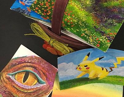 Studies in Acrylic