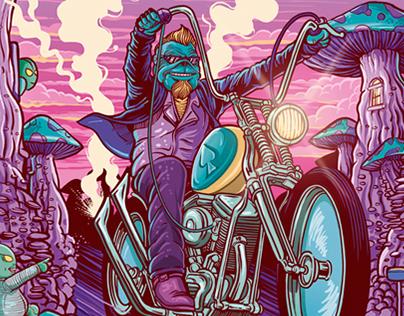 Stranhos Azuis - Cover