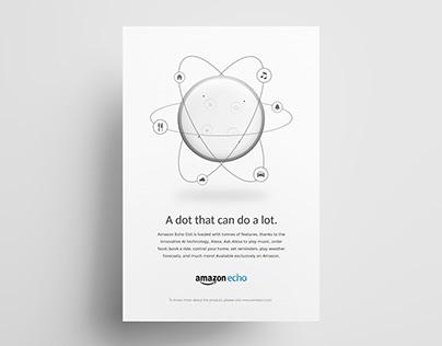 Amazon Echo Dot | Ad Campaign Concept