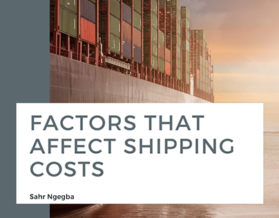 Factors That Affect Shipping Costs