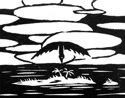 Island Guardians (Linocut Prints)