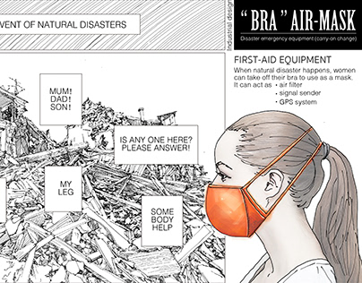 """Bra"" Air-mask"