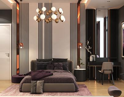 Master Modern Bedroom Design