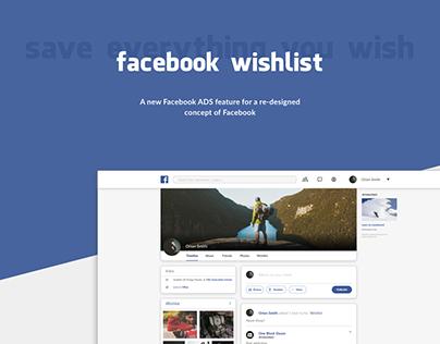 Facebook Wishlist Concept