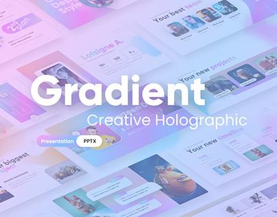 Gradient Holographic - PowerPoint Presentation