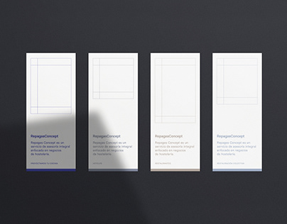 Repagas Concept Brand Identity