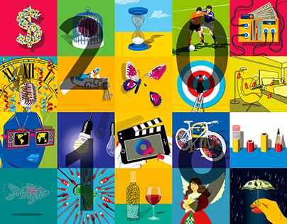 Various Illustration Projects - 2019