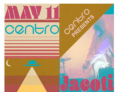 Centro Presents Jacoti Sommes Techno Music Flyer
