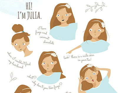 JULIA - CHARACTER ILLUSTRATION