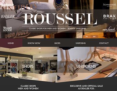 Maison Roussel - Website