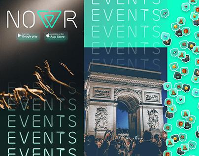 Nowr platform - event sharing app