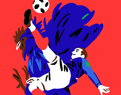 Fifa World Cup 2018 Russia Illustrations