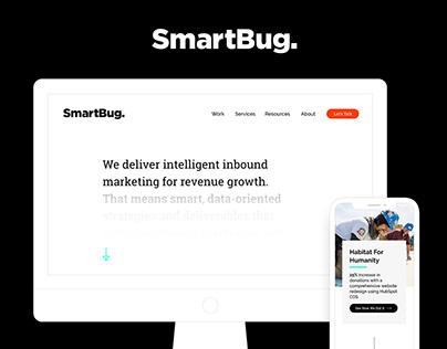 SmartBug Rebrand + Website Design