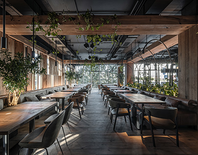 Par Bar³ / Urban Jungle in Kyiv by YODEZEEN Architects
