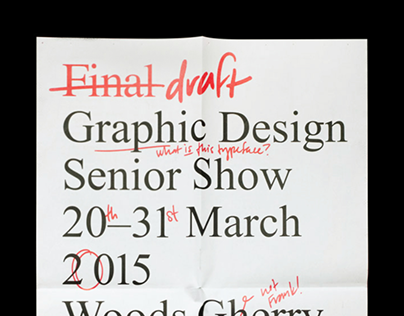 Final Draft Senior Show
