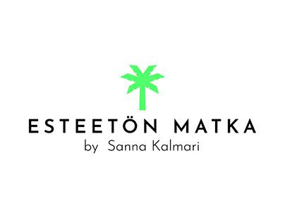 LOGO/IDENTITY: Esteetön matka by Sanna Kalmari