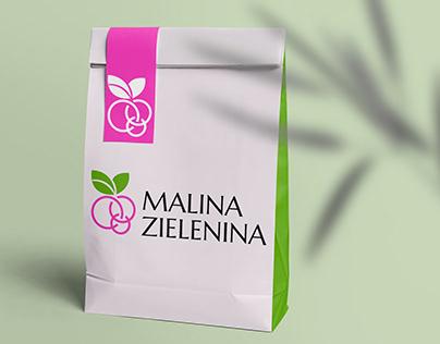 Logo - catering MALINA ZIELENINA