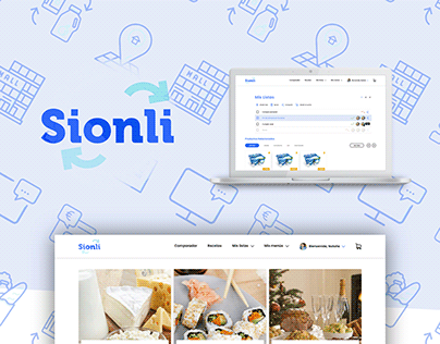 Sionli Shopping App Prototype