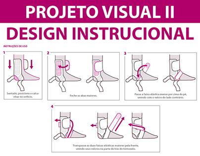 Instrução visual para embalagem - PROJ VISUAL II