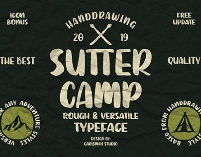 FREE Sutter Camp Font