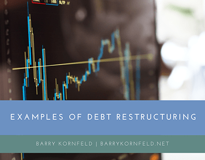 Examples of Debt Restructuring