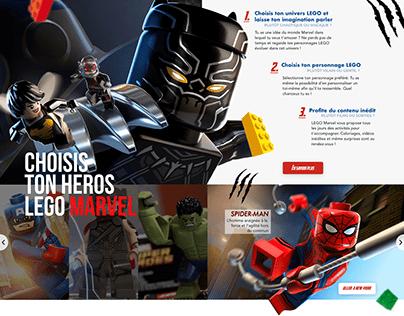 Homepage LEGO Marvel Avengers