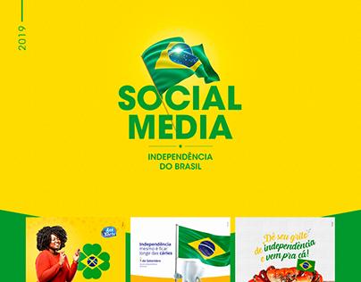 Social Media 2019 | Independência do Brasil