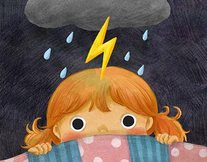 Thunder! | Children's illustration