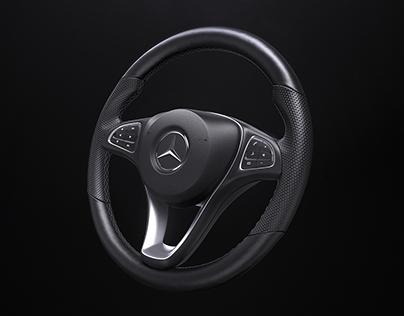 Product Shot - C-Class Steering Wheel