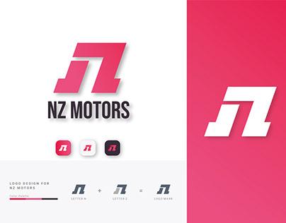 NZ MOTORS Automobile company Logo!