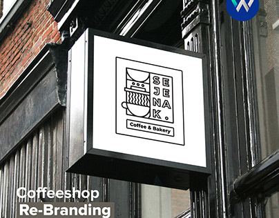 Sejenak Coffee - Coffeeshop Re-Branding