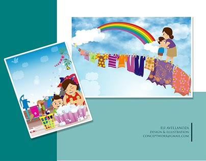 Illustration for Children's Story Book