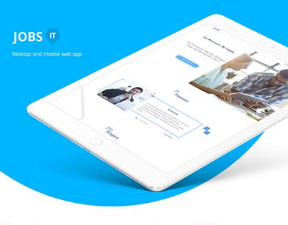 Design for WebApp JobsIT