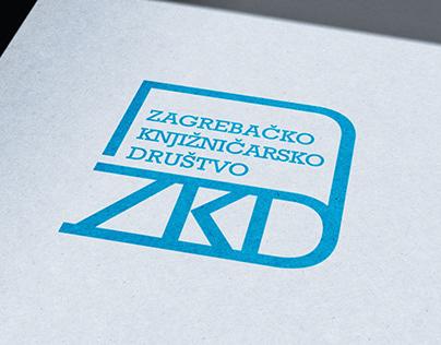 Zagrebačko knjižničarsko društvo logotip