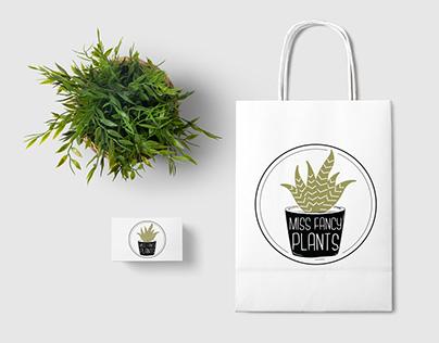 Logo Design: Miss Fancy Plants