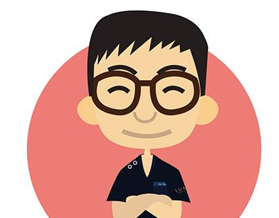 Lumas-Korea HK Character Design Dr-Chung