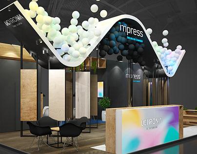 IMPRESS exhibition stand MEBEL'21