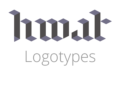Logotypes and brand identities.