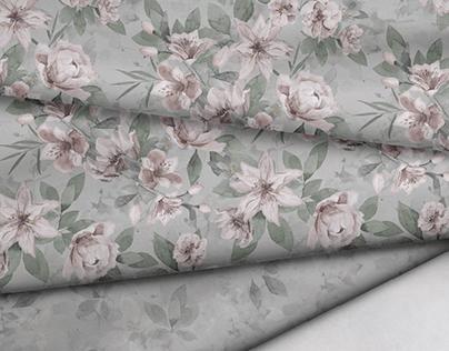 Vintage Flowers | Textile Design Collection