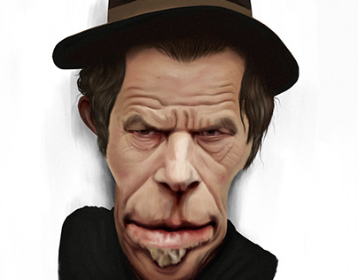 Tom Waits - Caricature - Personal Project