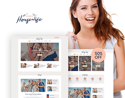 Women & Family WordPress Blog Theme