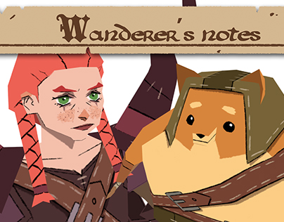 Wanderer's notes (Character Design)